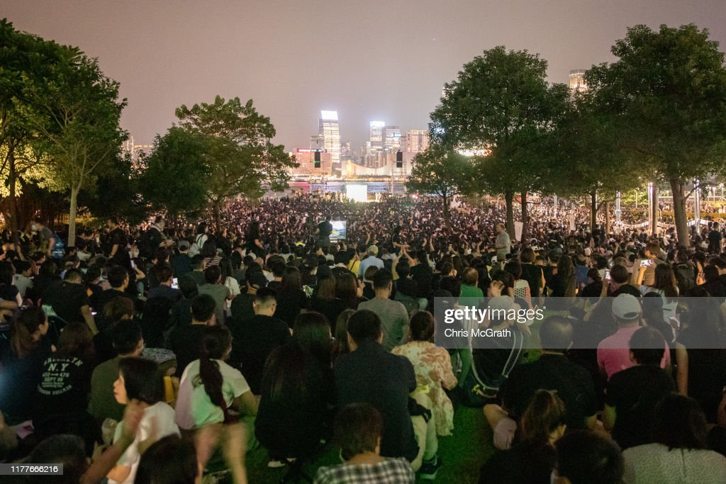Hong Kong Marks Five Years Since The Umbrella Movement : News Photo
