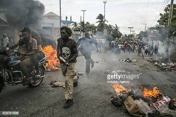 Thousands of protesters took on the streets of PortauPrince asking for the annulment of the upcoming runoff presidential election that is scheduled...