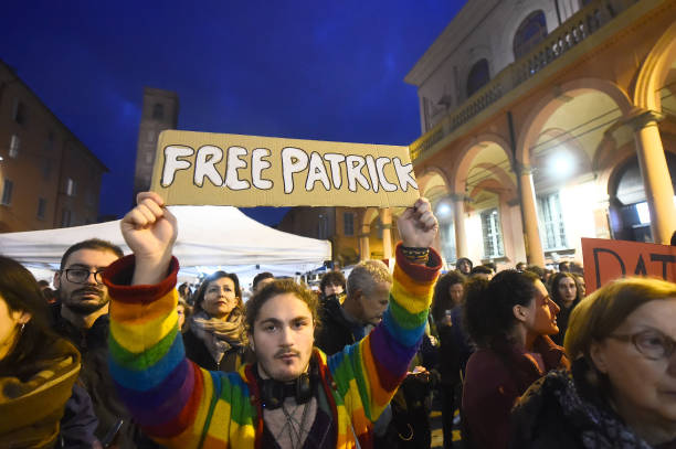 ITA: Manifestation For The Freedom Of Patrick George Zaky Detained In Egypt