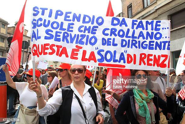 Thousands of students take to the streets of Italy to protest against education reforms ahead of the socalled Good School bill being debated in...