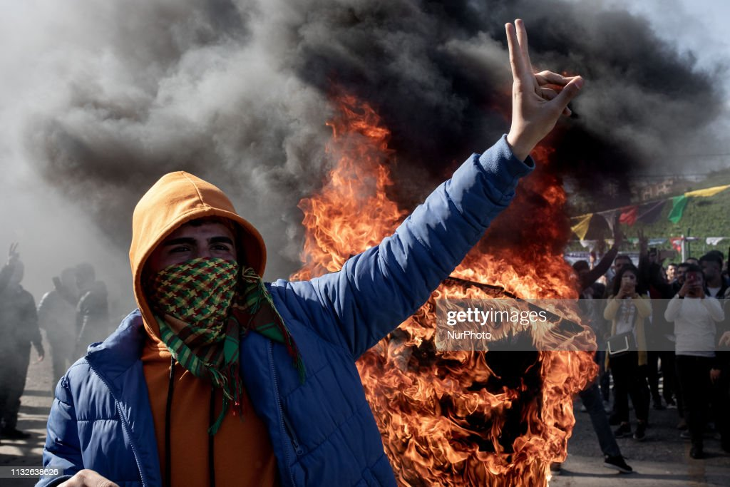 TUR: Kurdish Communities In Turkey Celebrate Nowruz