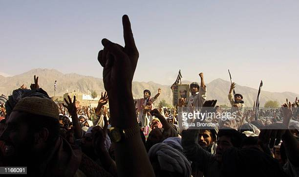 Thousands of Taliban supporters rallied October 1 2001 in the town of Quetta Pakistan Quetta is located near the Afghanistan border