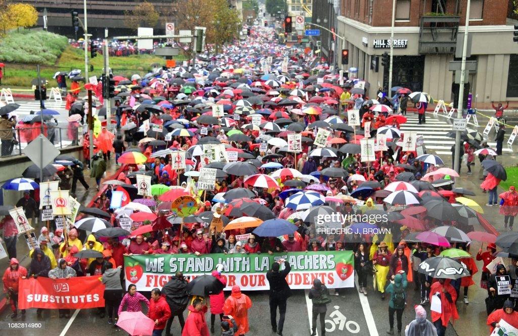 strike-education-US-EDUCATION-TEACHERS-STRIKE : News Photo