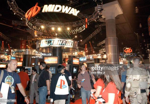 Thousands of video games fans jammed the floor for the Electronic Entertainment Expo show being held inside the massive Los Angeles Convention Center...