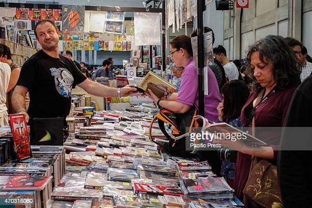 Thousands of visitors to the twentyfirst edition of Torino Comics the fair that brings together fans of comics cartoons video games and the...