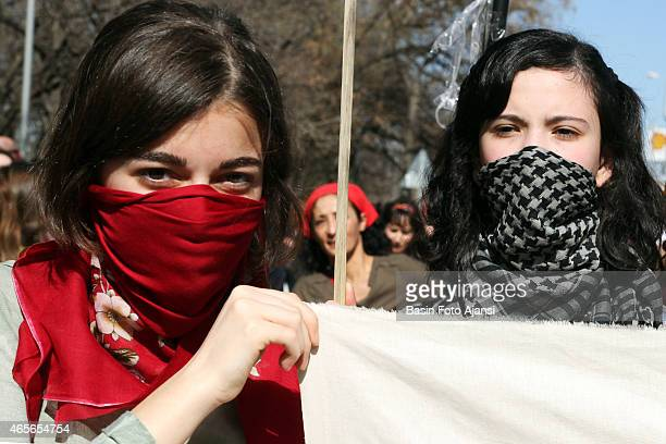 Thousands of women marched against discrimination sexual abuse and violence on International Women's Day Women demonstrators blamed government...
