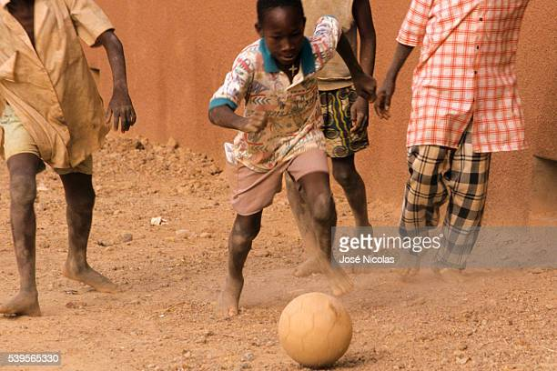 Thousands of young African boys dream of leaving their lives of poverty to play football in Europe, and feed their families. The majority of the boys...