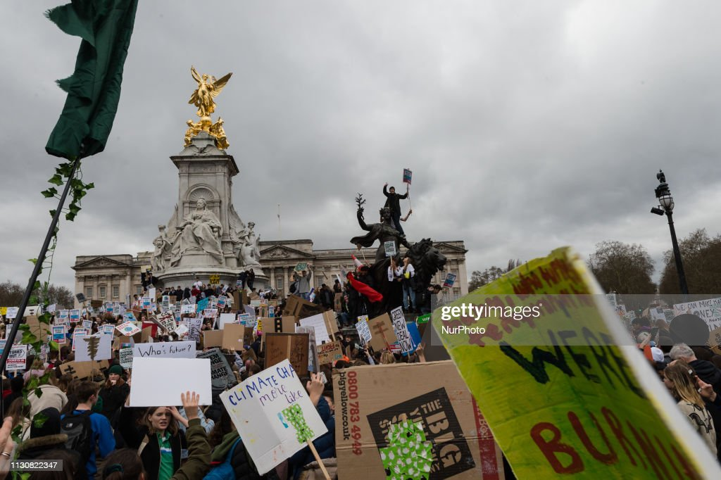 Global Youth Strike For Climate In London : News Photo
