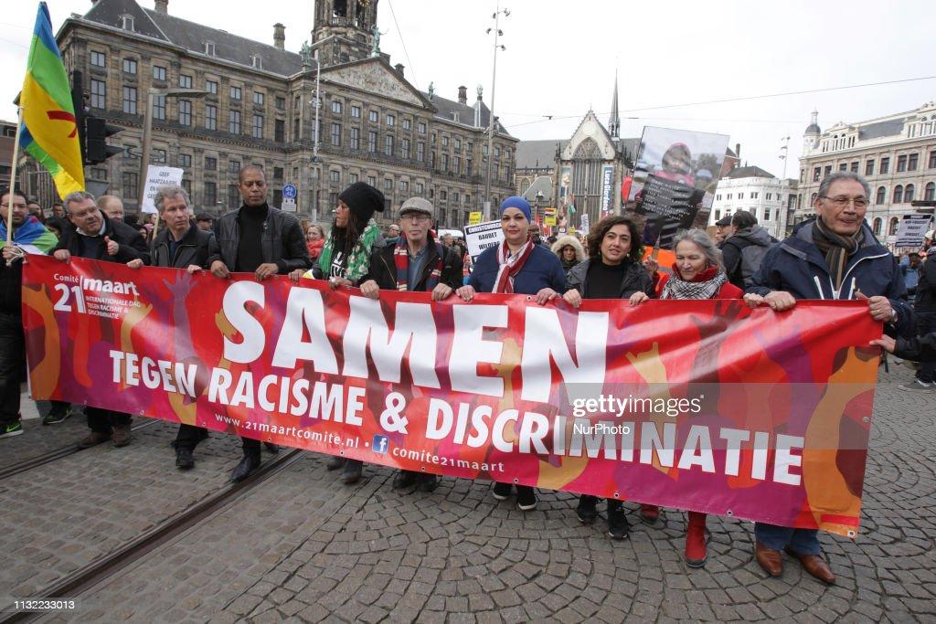 NLD: Anti-Racism Demonstration In Amsterdam