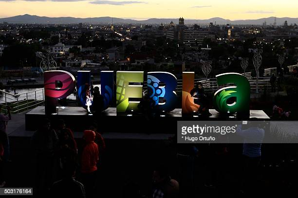 Thousands prepare to celebrate New Year in Puebla - Mexico