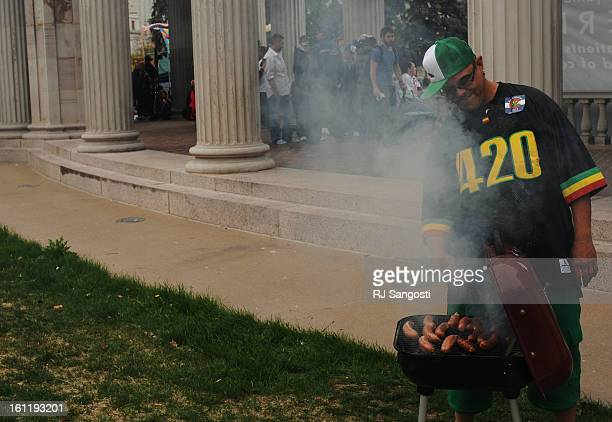 Thousands show Wednesday April 2011 for the annual 420 Rally at Civic Center Park RJ Sangosti The Denver Post