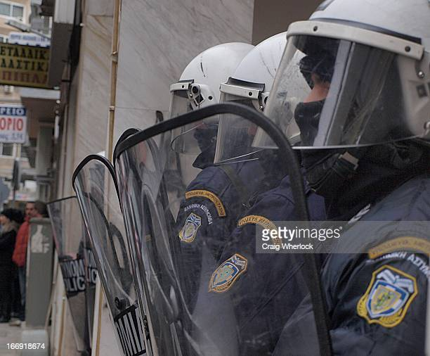 Thousands took to the streets of Thessaloniki, Greece for the latest in a series of protests aimed at overturning government plans to introduce yet...