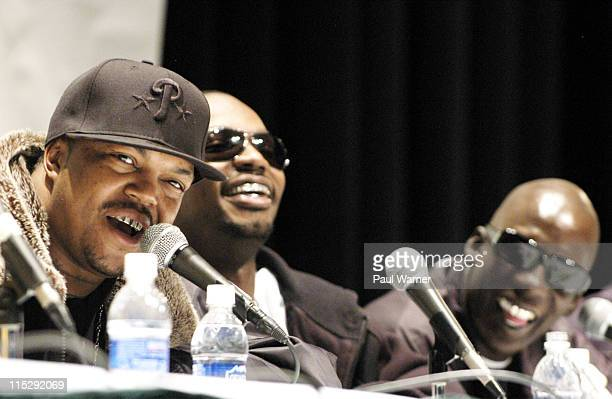 Three 6 Mafia during 2006 Hip Hop Summit Sponsored By Chrysler Financial at Wayne State University's Bonstelle Theatre in Detroit Michigan United...