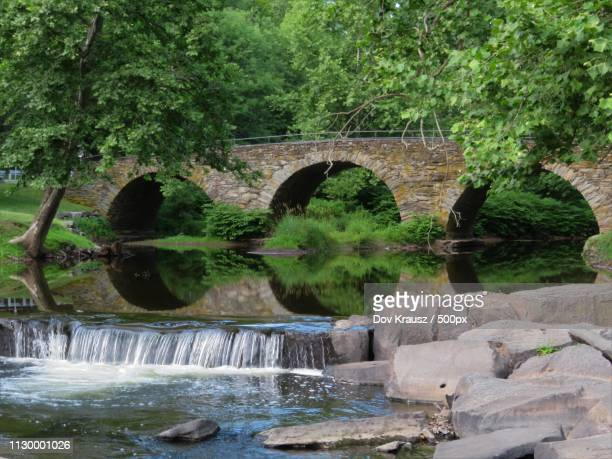 three arch bridge - krausz stock-fotos und bilder