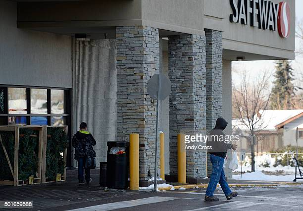 Three area Safeway stores were affected by skimming of credit card pin pads in three Colorado stores including this store on W 44th Ave in Denver...