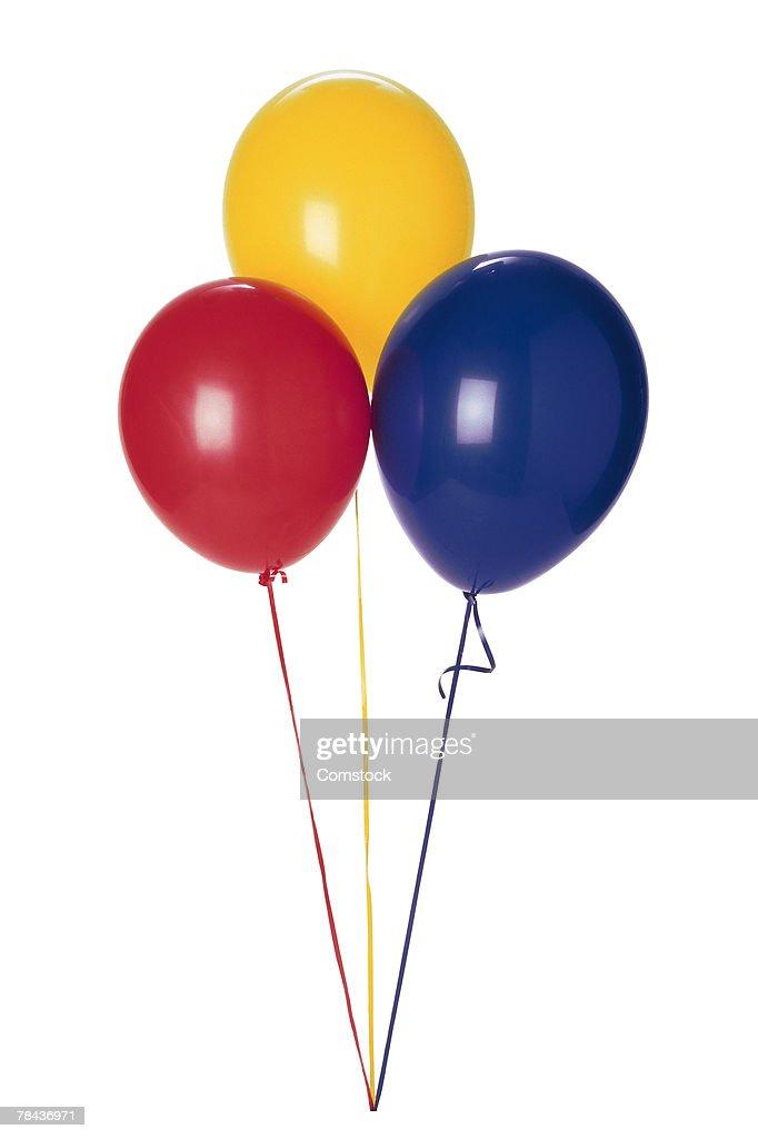 Three balloons : Stockfoto