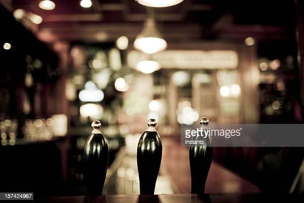 Three Beer taps