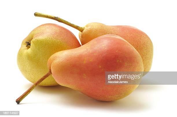 Three Blush Pears