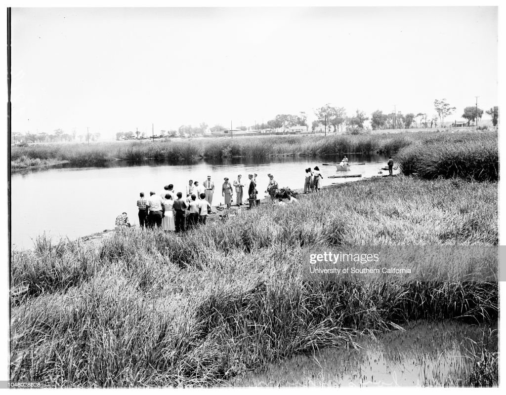 Three boys drowned , July 16, 1951  Ronald Thomas