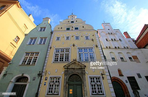 Three Brothers, three oldest houses in Riga