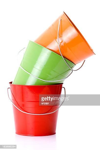 three bucket