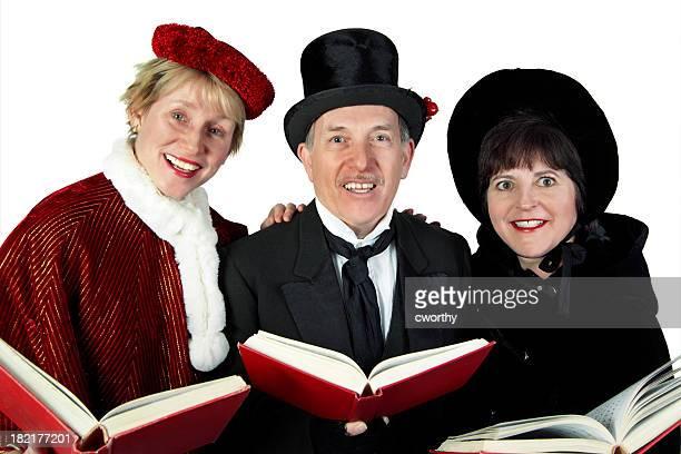 Three Carolers