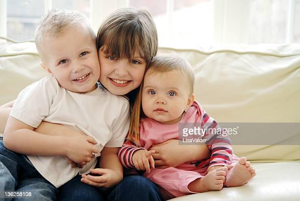 Three children portrait