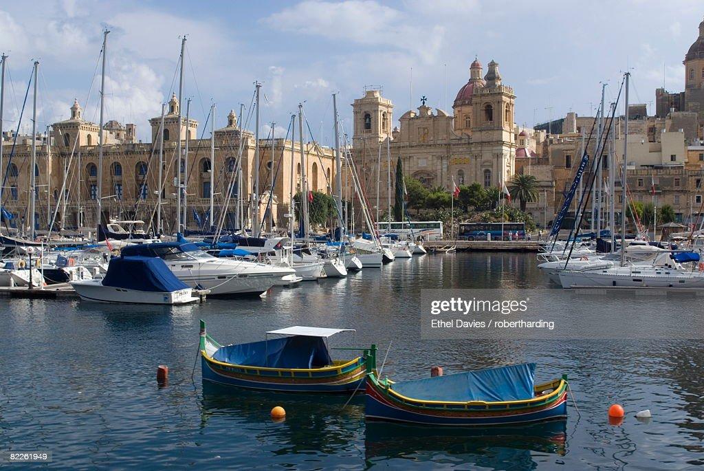 Three Cities (Cospicua, Senglea and Vitoriosa), Malta, Mediterrranean, Europe : Stock Photo