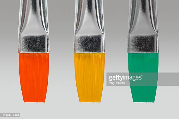 Three colors writing brushes which colors were att
