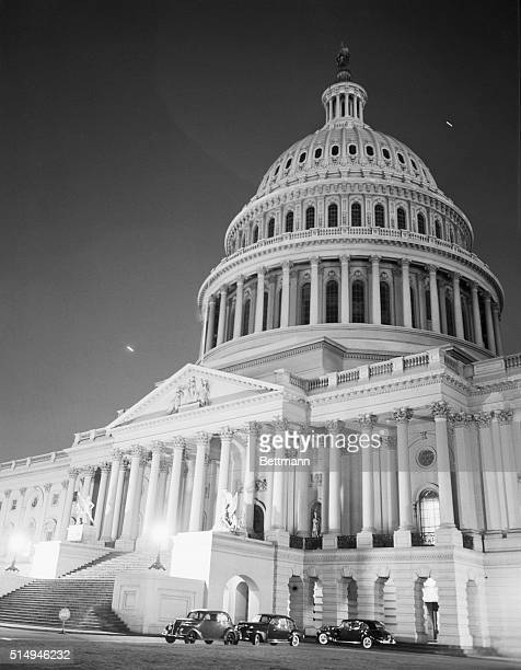 Three days after the attack on Pearl Harbor the Capitol Dome's lights were out for first time in a practice blackout dimming the city