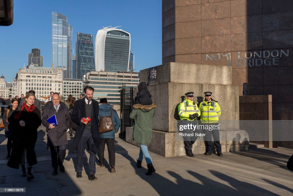 Fishmongers' Hall London Bridge Terrorism  Aftermath : News Photo