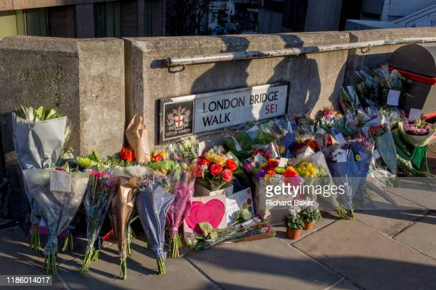 Three days after the killing of Jack Merritt and Saskia Jones by the convicted teorrorist Usman Khan at Fishmongers' Hall on London Bridge, a...