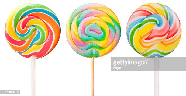 Three Delicious Lollipops