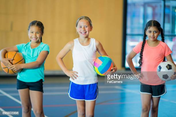 Tres deportes diferentes
