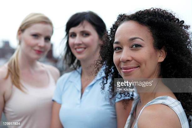 Three diverse women, portrait
