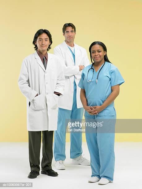 Three doctors, portrait