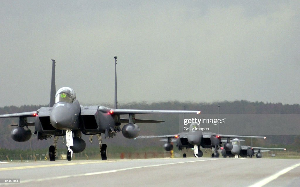 U.S. Air Force Planes In Turkey : News Photo