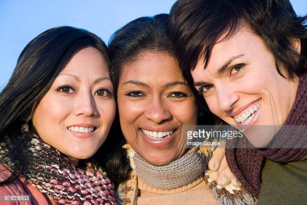 Tres mujeres amigos