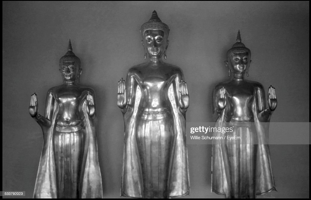 Three Figurines Of Goddesses : Foto stock