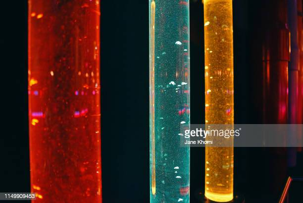 three flusks with multicolored liquid - correction fluid stock pictures, royalty-free photos & images