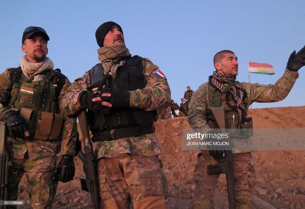 IRAQ-KURDS-FRANCE-CONFLICT : News Photo
