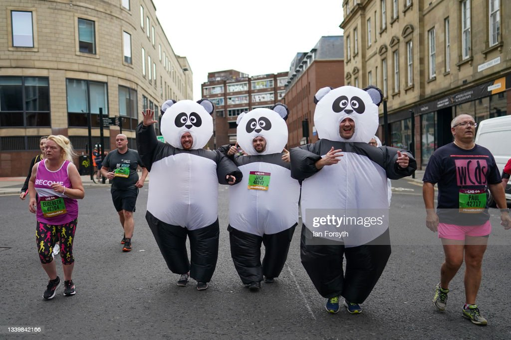Runners Take Part In The Great North Run : ニュース写真
