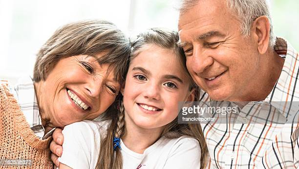 three generation family - niece stock photos and pictures