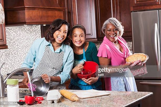 Drei Generationen Backen