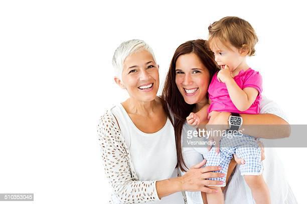 Tres generaciones familia