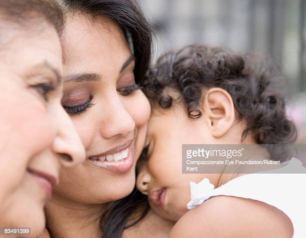 Three Generations of East Indian Women