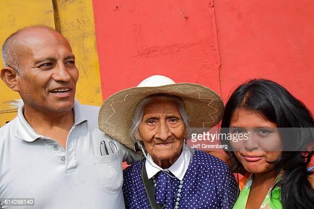 Three generations of family Avenida Miguel Grau