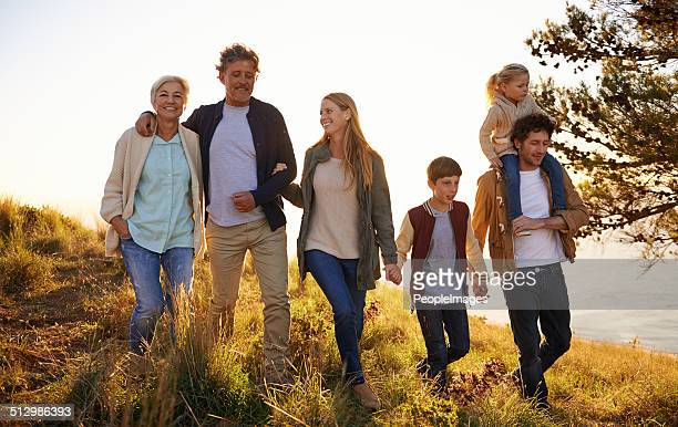 three generations of happiness - multigenerational family stock photos and pictures