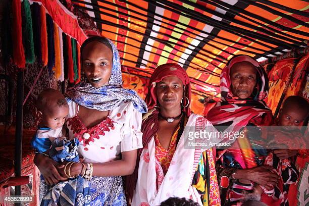 Three generations of semi nomadic women under the same house...
