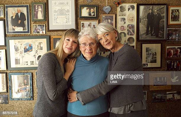 three generations of women by family photos - daughter photos stock photos and pictures